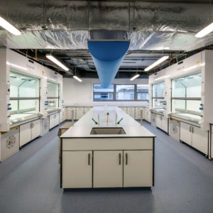 APEX fume cupboards for KalVista's bright new lab