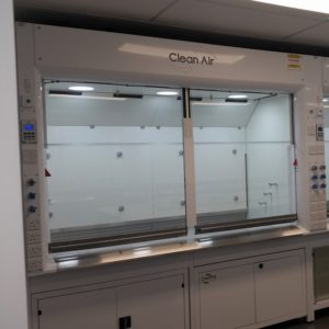 High Performance Radius Profile fume cupboard