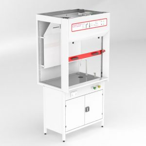 Clean Air School fixed ducted fume cupboard