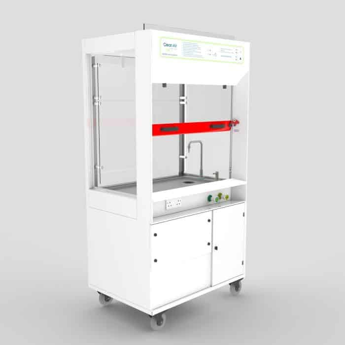 mobile fume cupboard, fume cupboard servicing and maintenance, five-year warranty