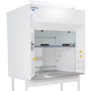 Standard fume cupboard in white