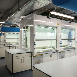 APEX 2 fume cupboard with energy saving technology to save up to 75% of running costs