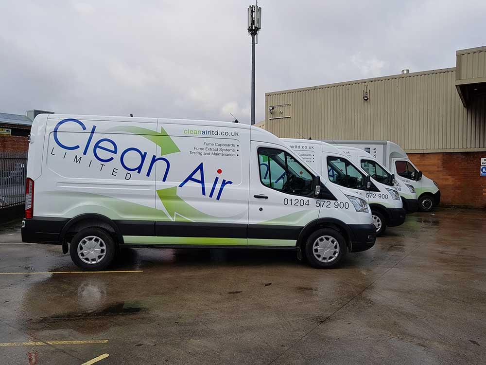 van fleet, lower diesel consumption
