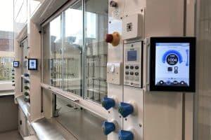 fume cupboard, fume hood vacuum system, vacuubrand, clean air