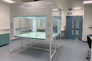 ventilated enclosure, lab equipment
